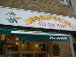 Peter's Cajun Creole Pizza