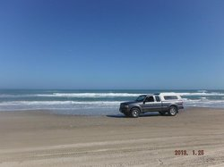 South Padre Island Beach Driving