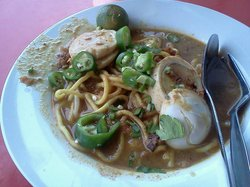 Mee Rebus Haji Wahid(Malay hawker upstairs)