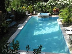 View of the Pool from the house