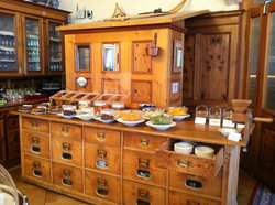 dining buffet area