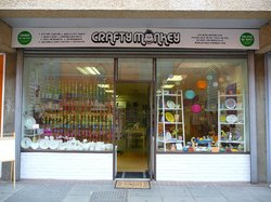 Crafty Monkey Pottery Painting, Build a Bear and Craft Studio