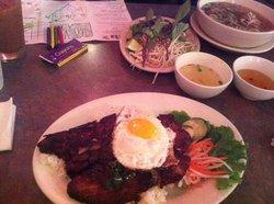 Com Tam Suon Op La & Pho Dac Biet
