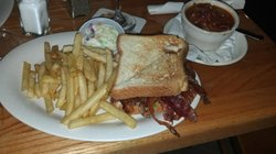 That's a BLT?  WOW!