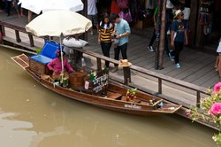 Ayothaya Floating Market & Elephant Village