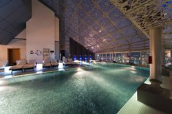 Highest Outdoor Swimming Pool of Qatar