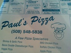 Paul's Pizza & Seafood
