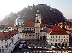 Ljubljana Walking Tour and Funicular Ride