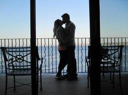Perfect honeymoon getaway. ;)