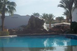 view from quiet pool area