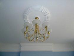 Room 11 light fitting & ceiling rose