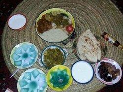 Traditional saudi food
