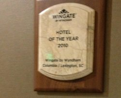 Hotel of the Year 2010
