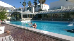 Uppvärmd pool:)