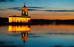 Normanton Church at Sunset