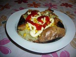 Istanbul Baked Potato