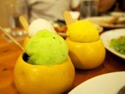 Passion fruit Sherbet