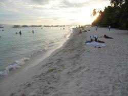 Nice white beach