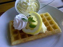 Lemon Meringue Waffle