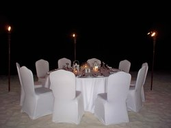 Dinner by Torchlight at the Radisson Aruba