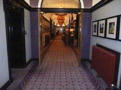 Corridor to bars