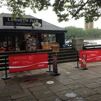 Riverside Cafe Lambeth Pier