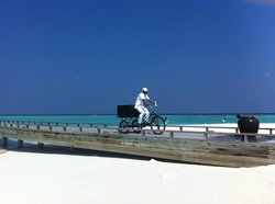 Deliveries to over water bungalows