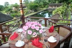 Tirta Ayu Restaurant , The Water Palace , Tirtagangga