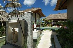 Entrance to Villa Dua
