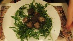 Truffle meatballs