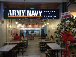 ‪Army Navy Restaurant, SM City, Clark, Angeles, P.I.‬