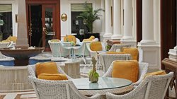 Afternoon tea at the Imperial Hotel Delhi
