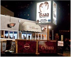 The Baaa Sports Bar and Cafe