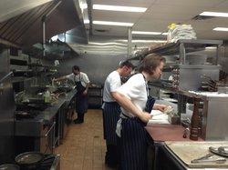 16 - Got a tour of the kitchen!!