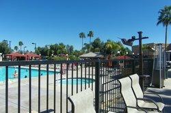 Large Pool & Hot Tub, Cabana Area
