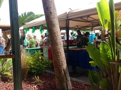 the expanded St. Patricks Day Porch with a band & selling Guiness plus Green Beer