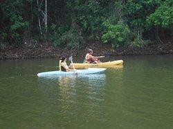 Passear de canoa na Lagoa Timeantube