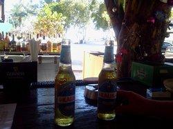kalik beer (nice and refreshing local beer!!)