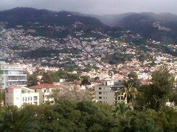 View from Balcony at Pestana Casino Park Hotel
