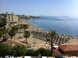 View From Lobby - First Impression of Benalmadena (Stunning)!