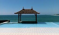 saman villa - pool