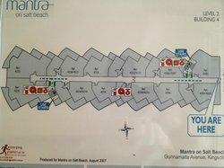 Floor map of Block 4