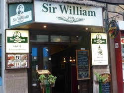 Sir William pub skot Etterem