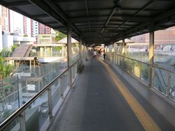 Walkway to PWTC station