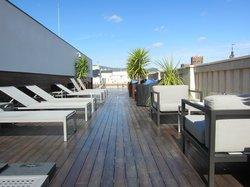 terrace+piscine sur le toit