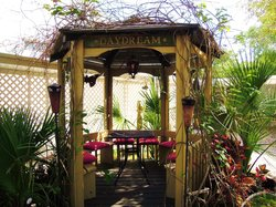 The Relaxing Gazebo By Day Or Night!