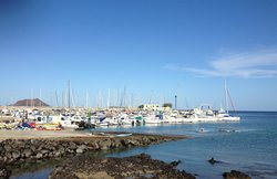 The marina in Corralejo area - 5 mins from the hotel