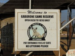 Gaborone Game Reserve