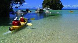 Kayaking in the Abel Tasman