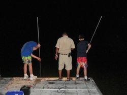 Night spear fishing tour